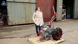 Мотоблок Мотор Сич МБ-6 бензин от компании ПКФ «Электромотор» - видео 2