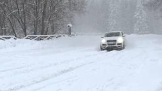 Audi Q7 3.0 TDI - Funny & Snow in 4k - Sulla Neve - Drifting
