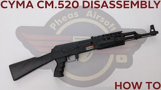 [HOW TO] CYMA CM.520 BUDGET AK DISASSEMBLY / REASSEMBLY AND INTERNAL REVIEW