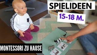 SINNVOLLE BESCHÄFTIGUNGSIDEEN für KLEINKINDER | 15-18 Monate Alt| MONTESSORI REGAL FÜR 15-18 Monate
