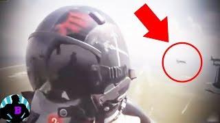 4 vídeos inexplicables captados por aviones militares