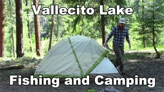 Vallecito Camping and Fishing - 11 Mile Hike up a Mountain - McFly Angler Episode 21