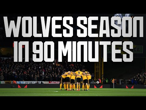 Wolves' season in 90 minutes | End of season awards opening video