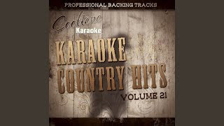 I'm in Love with a Married Woman (Originally Performed by Mark Chesnutt) (Karaoke Version)