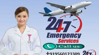 Get Inexpensive Medivic Air Ambulance Service in Silchar and Varanasi