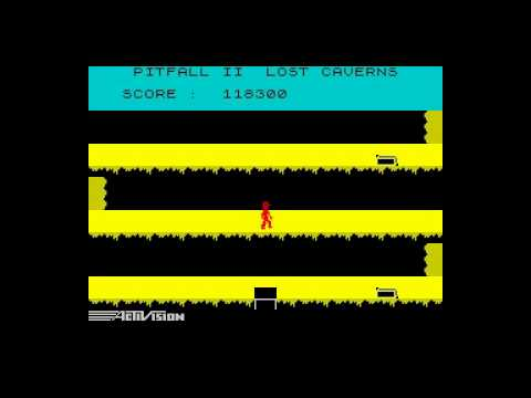 Oglądaj: Pitfall II: Lost Caverns Walkthrough, ZX Spectrum