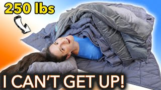 How Many Weighted Blankets Until I Can't Get Up? thumbnail