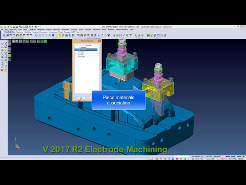 Electrode Machining using VISI Software.