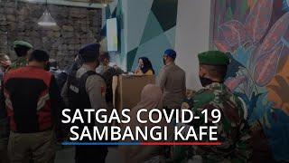 Satgas Covid-19 Kota Pariaman Sambangi Kafe dan Tempat Keramaian, Perketat Protokol Kesehatan