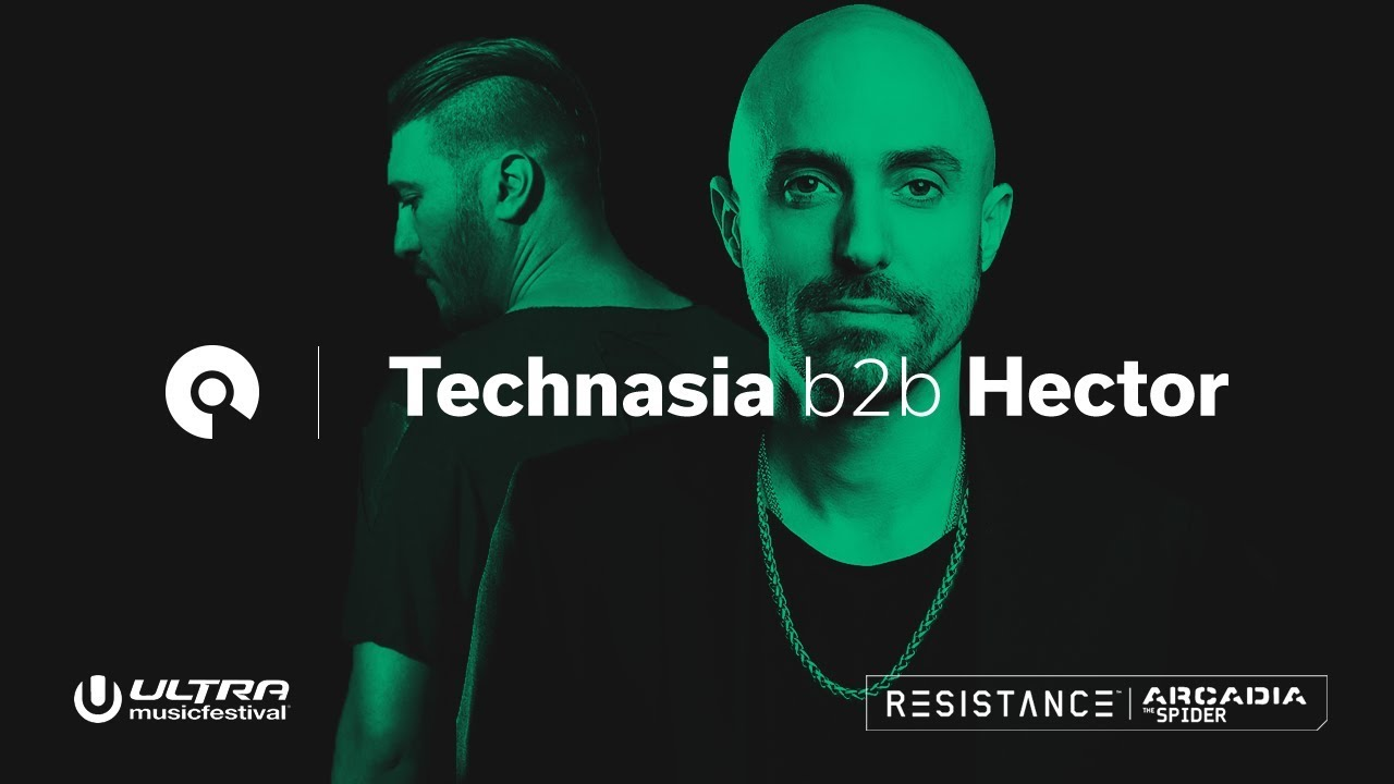 Technasia b2b Hector - Live @ Ultra Music Festival 2018, Resistance Arcadia Spider