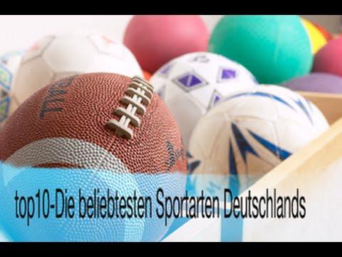top10- Die beliebtesten Sportarten Deutschlands