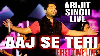 Aaj se teri LIVE Full HD - Arijit Singh Live in concert - Mtv india tour - Padman
