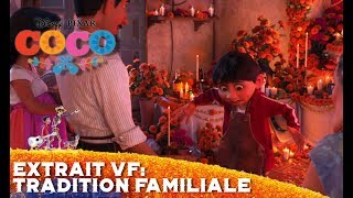 Coco | Extrait VF: Tradition familiale | Disney BE