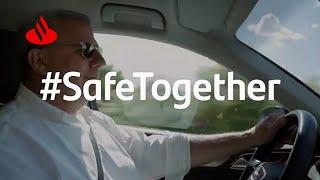 Banco Santander #SafeTogether: SIGUE las MEDIDAS de SEGURIDAD en el DÍA a DÍA anuncio