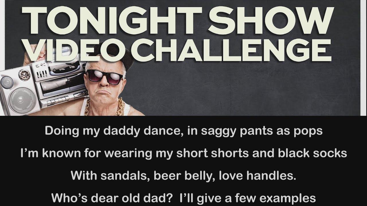 Tonight Show Dad Rap (Lyric Video) thumbnail