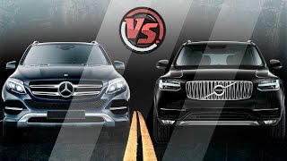 2hp: Mercedes-Benz GLE Vs Volvo XC90