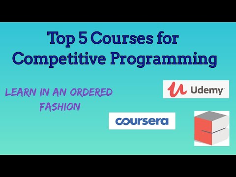 Top 5 Competitive Programming Online Courses - YouTube
