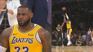 6605f4d508ad Lebron James Shocks Lakers Crowd With Game Tying Shot To Force Overtime Vs  Spurs! Lakers
