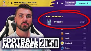 I SIMMED TO 2050 IN FOOTBALL MANAGER 2020!!! FM2050