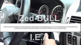 Nissan Almera  Manuel Kumanda Kodlama Prosedürü