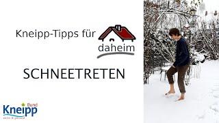 Video Schneetreten - Kneipp-Tipps für daheim Teil 21 abspielen