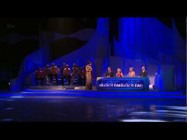 Dancing On Ice 2013 R2 Duel - Luke Campbell vs Samia Ghadie