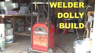 Making A Lincoln AC225 Arc Welder Dolly, Hand Truck, Cart - MSFN