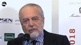 De Laurentiis: «Prevenzione fondamentale. Lo dico sempre ai ragazzi del Napoli...»