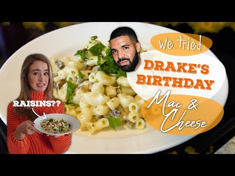 We Tried Drake's Birthday Mac and Cheese made with RAISINS | We Tried It | Allrecipes.com