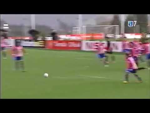 Video: Thomas Partey's amazing goal at training