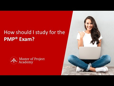 How should I study for the PMP® exam? - YouTube