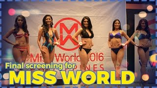 Miss World Philippines 2016 Final Screening part II
