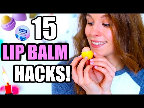 DAS kann DEIN Lippenbalsam auch! 15 GENIALE LIP BALM HACKS ♡ BarbieLovesLipsticks
