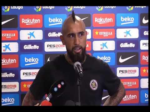 El debut de Vidal en Camp Nou. Análisis y comentario