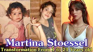 Martina Stoessel Transformation From 1 To 21 Years Old