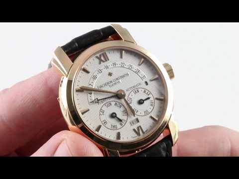 Vacheron Constantin 31-Day Retrograde Perpetual Calendar 47031/000R-8955 Luxury Watch Review