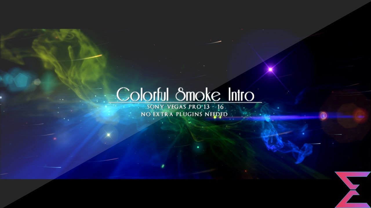 35 Colorful Smoke Intro Template for Sony Vegas 13 – Enzee FX