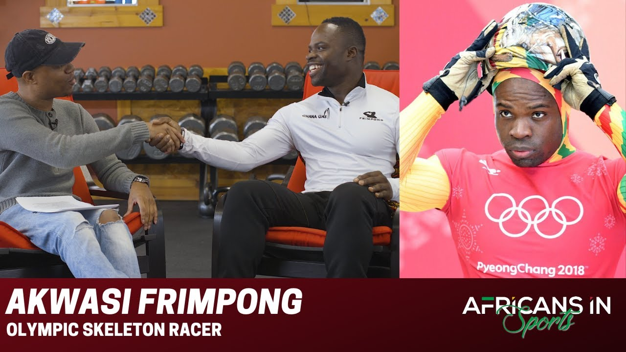 Akwasi Frimpong | Ghanaian Skeleton Racer Teaches The Importance of Never Giving Up