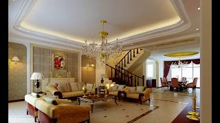 Luxury Living Room Chandelier Design Ideas