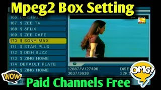 dd free dish me paid channel kaise chalaye mpeg 2 - TH-Clip