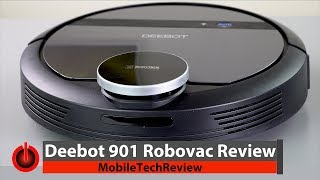 Deebot 901 Robot Vacuum Review - Better Deal than Roomba?