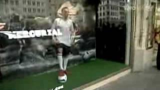 مقطع مضحك للاعب الفرنسي ريبيري
