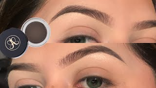 Natural Eyebrow Tutorial | ABH Dipbrow Pomade