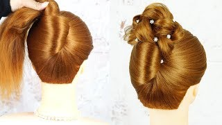 French Twist Updo Hair Tutorial - Perfect For Prom, Weddings, Work   Easy French Twist Hairstyle