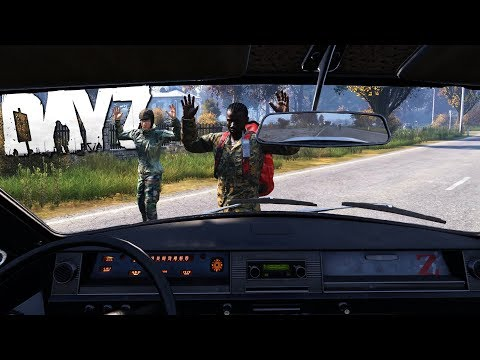 Escape From Cherno! An Epic Car Adventure In DayZ.