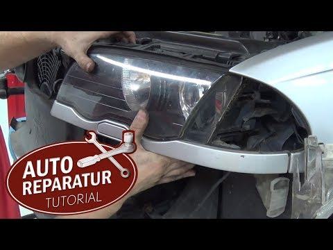 BMW E46 Xenon Scheinwerfer ausbauen | Stoßstange ausbauen | DIY Tutorial
