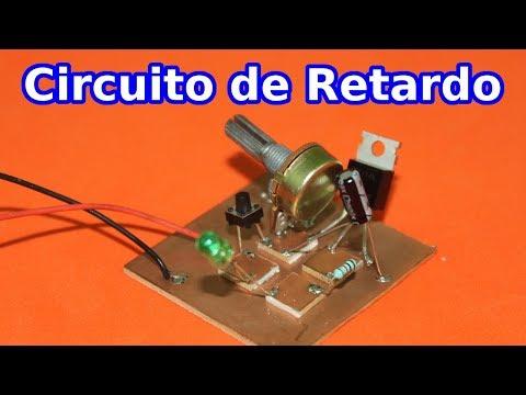 Circuito de Retardo, Temporizador.