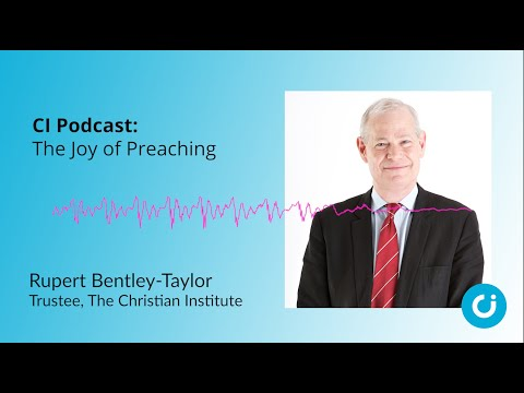 CI Podcast: The Joy of Preaching