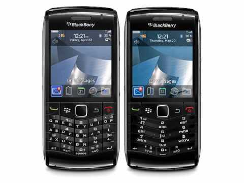 BlackBerry Pearl 3G  (BlackBerry 9100 and 9105)
