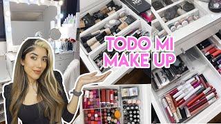 Mi coleccion de makeup 2020 y les chusmeo todo mi tocador.